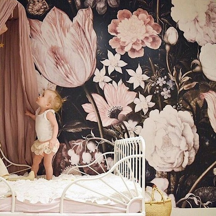 Pale Pink Wallpaper For Girl Nursery Creative Wallpapers For Kids Bedrooms That Will Turn Any