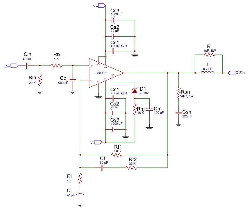 300w Subwoofer Power Amplifier Wiring Circuit Diagram Auto Schematic Audio Diagrams