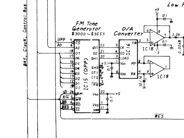 keyboard circuit schematics