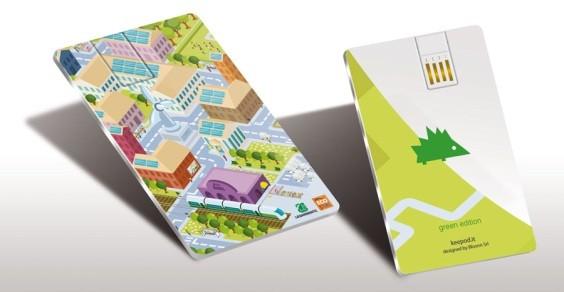 Keepod Green Edition: un mondo green nel portafoglio