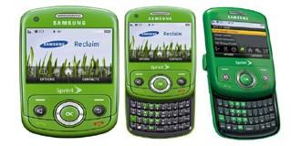 """Samsung Reclaim, """"green"""" non solo nell'aspetto"""