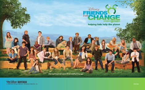 Friends for Change, tutti uniti per la terra