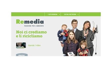 Il nuovo sito di ReMedia ti insegna a riciclare i rifiuti tecnologici