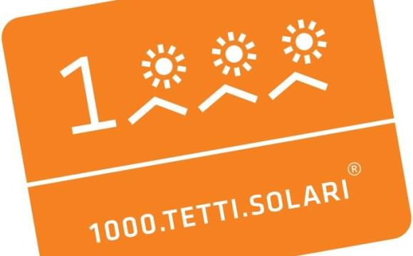 1000 tetti fotovoltaici