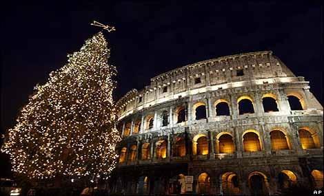 E' green il Natale 2011 di Roma