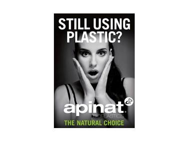 La bioplastica Apinat per il film da imballaggio
