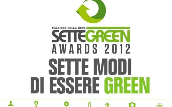 Sette Green Awards: ecco i più sostenibili che si aggiudicano il premio
