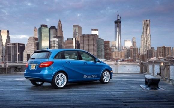 Mercedes Classe B Electric Drive presentata in anteprima a New York