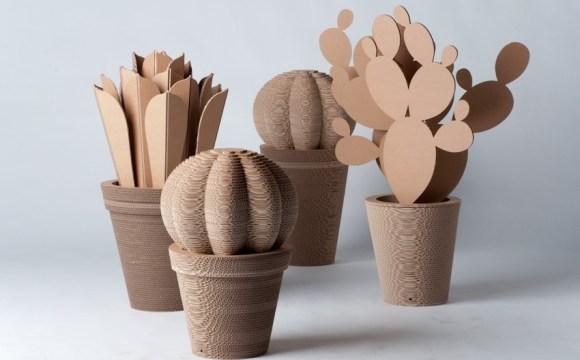 Un regalo originale ed utile per San Valentino: il cactus di cartone