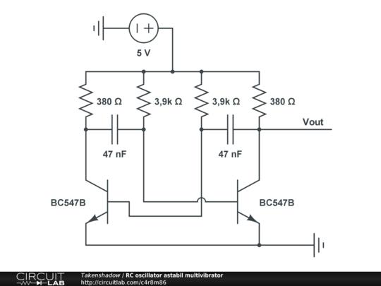 circuitlab forums analog design rc oscillator