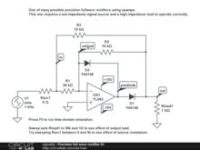 circuitlab fullwave bridge rectifier
