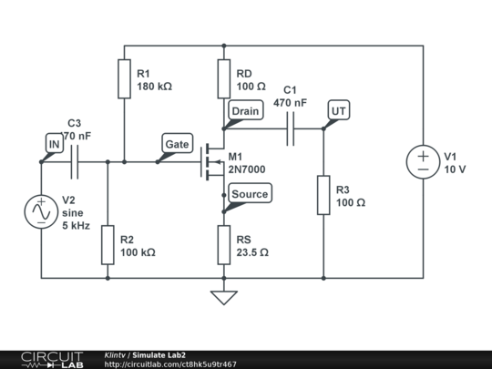 simulate circuit online