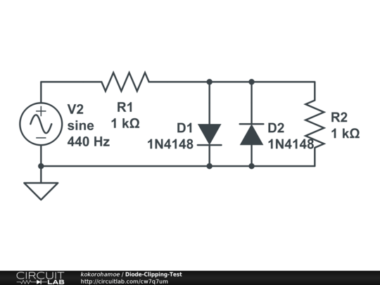 analog how to analyze this diode circuit