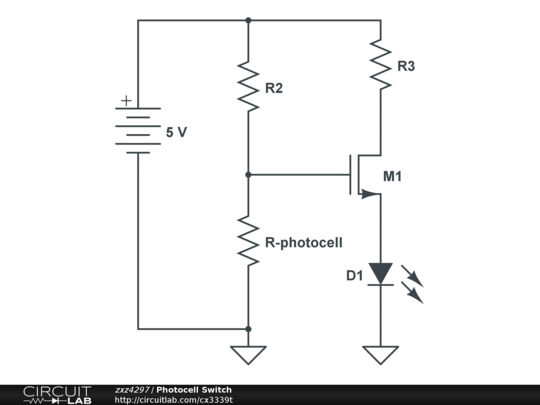 circuitlab photocell switch