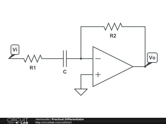 circuitlab practical differentiator