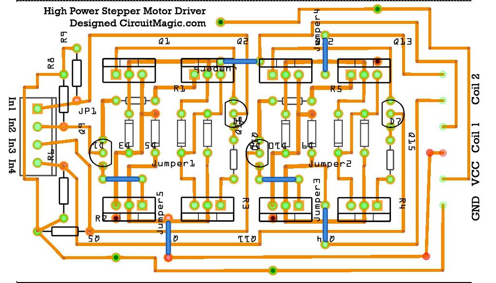 3 Amp Stepper motor Driver TB6560 with Arduino Circuit Magic