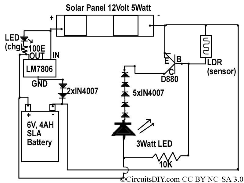 6 Volt Led Wiring Diagram Wiring Diagram