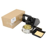 Soldering Iron Holder with Reel, Sponge and Wire Tip Cleaner