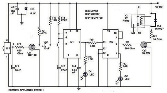 audio generator is controlled by light electronic projects