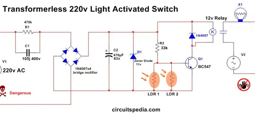 Wiring Diagram For 220v Electronic Schematics collections