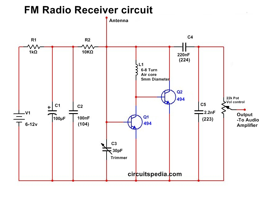 Radio Circuit Diagram Wiring Diagram