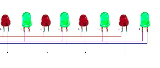 LED Flasher Circuit diagram Using 555 timer Blinking LED Circuit