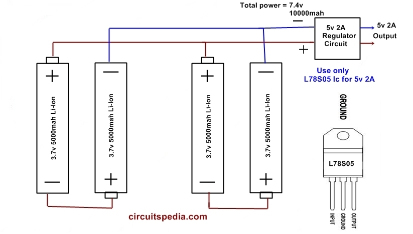 Diagram Of A Aa Battery Electronic Schematics collections