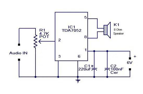 Free Wiring Diagram Usb Audio Amplifier Circuit Diagram