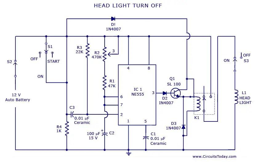 Basic Car Wiring Diagram Light - Wwwcaseistore \u2022