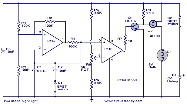 Light Circuit Diagram - Wwwcaseistore \u2022