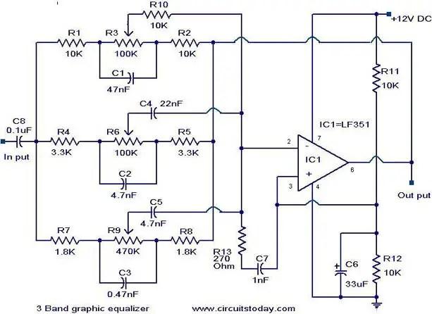 Audio Circuits August 2011 Amplifier Circuit Equalizer Mixer car