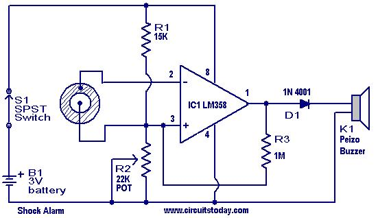 Electric Shocker Circuit Online Wiring Diagram
