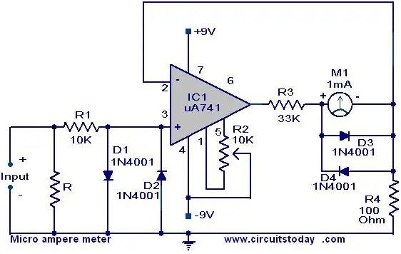 Dc Ampere Meter Wiring Diagram Wiring Diagram