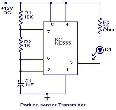 Parking sensor circuit - Electronic Circuits and Diagrams-Electronic