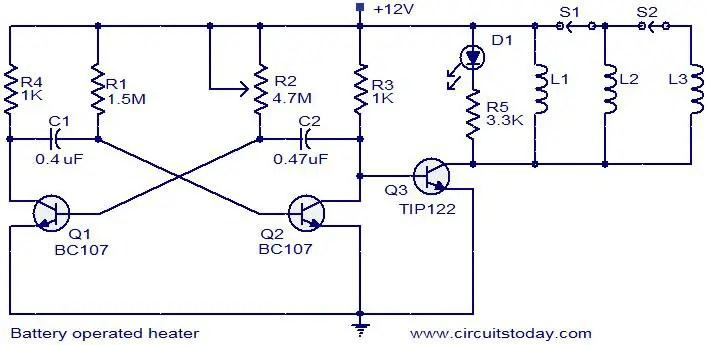 Heater Schematic Wiring Diagram
