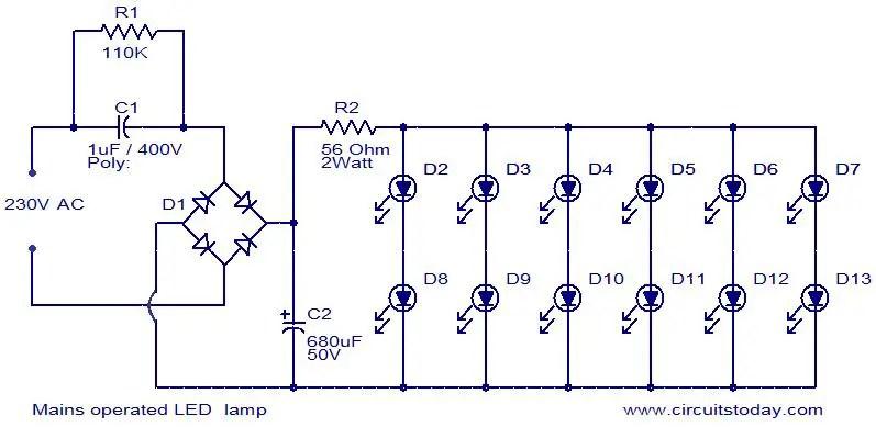 Circuit Wiring How To Make A Led Bulb Circuit car block wiring diagram