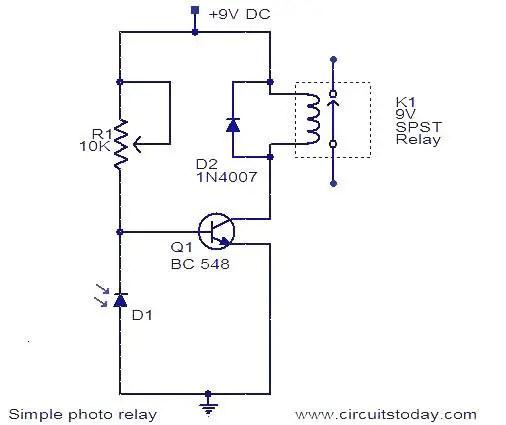 Electrical Diagram Relay wiring diagram panel