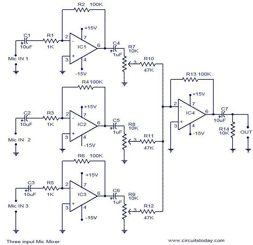 Powered Mixer Wiring Diagrams Better Wiring Diagram Online