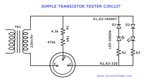 transistor quality checker with buzzer