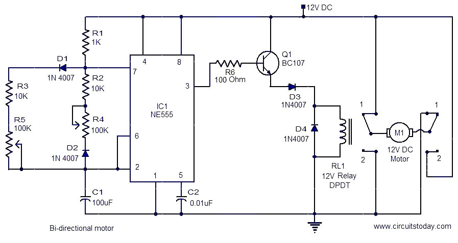 wiring diagram also dpdt switch wiring diagram on dc motor wiring