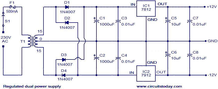 Wiring 12v Power Schematic Wiring Diagram