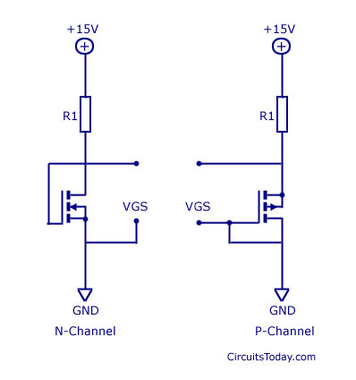 MOSFET-Metal Oxide Semiconductor Transistor - Electronic Circuits - mos transistor
