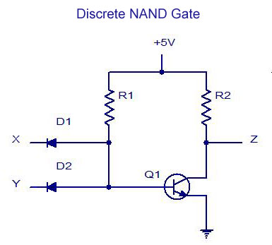 7410 Diagram And Gate Electronic Schematics collections