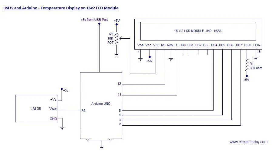 arduino lcd wiring diagram