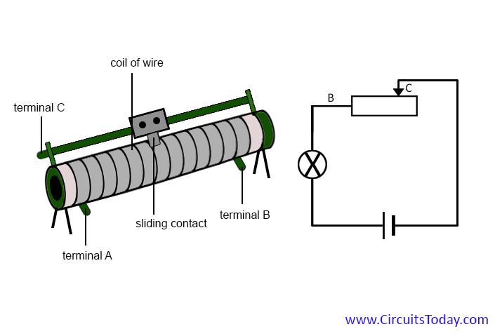 circuit diagram potentiometer