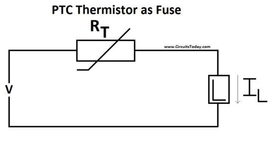 diagram simple thermistor circuit diagram