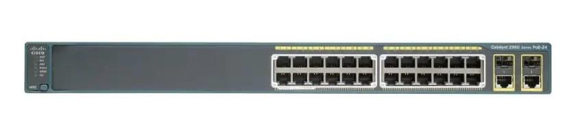 Cisco Catalyst 2960-Plus 24TC-L Switch - Cisco