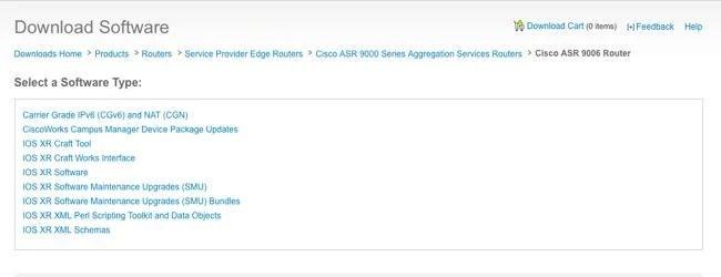IOS XR Software Maintenance Updates (SMUs) - Cisco