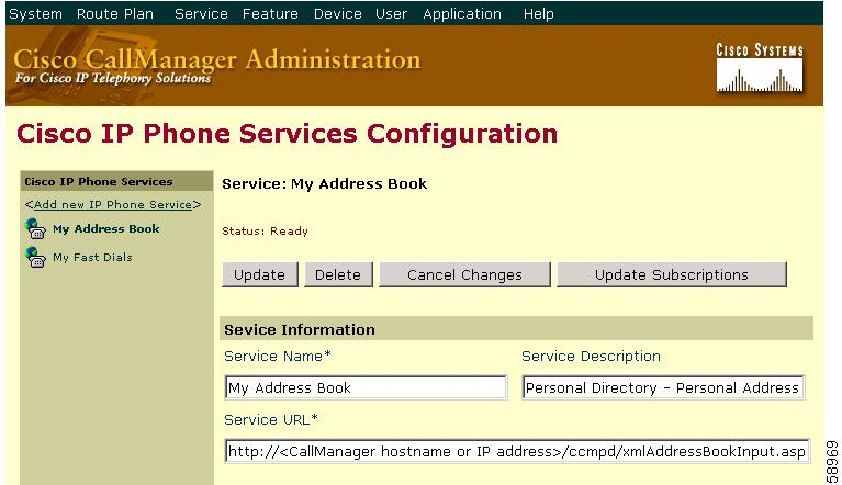 Cisco CallManager Administration Guide, Release 31(1) - Personal