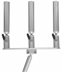 Aluminum Adjustable Rod Holder | Triple Rod Holder | Cisco